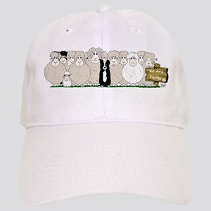 Sheep Family Cap